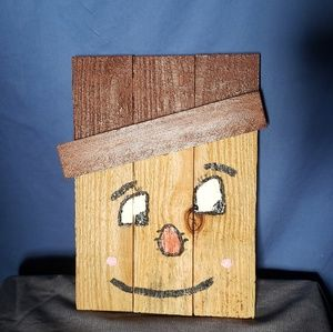Handmade Fall Scarecrow Head
